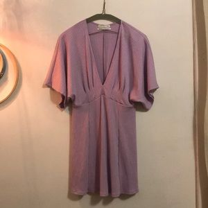 Lilac urban outfitters short dress medium